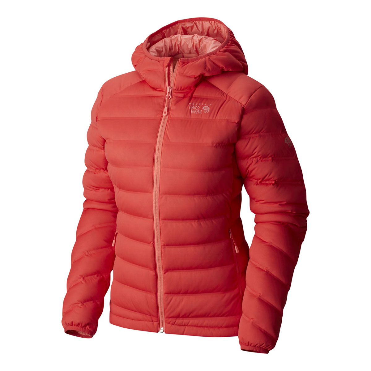793416c17 StretchDown Hooded Jacket Womens