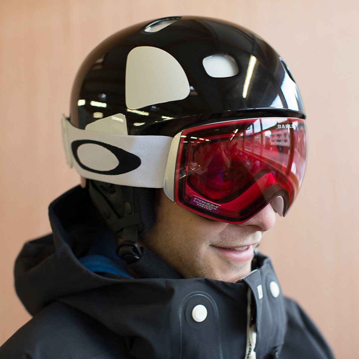 oakley flight deck and helmet