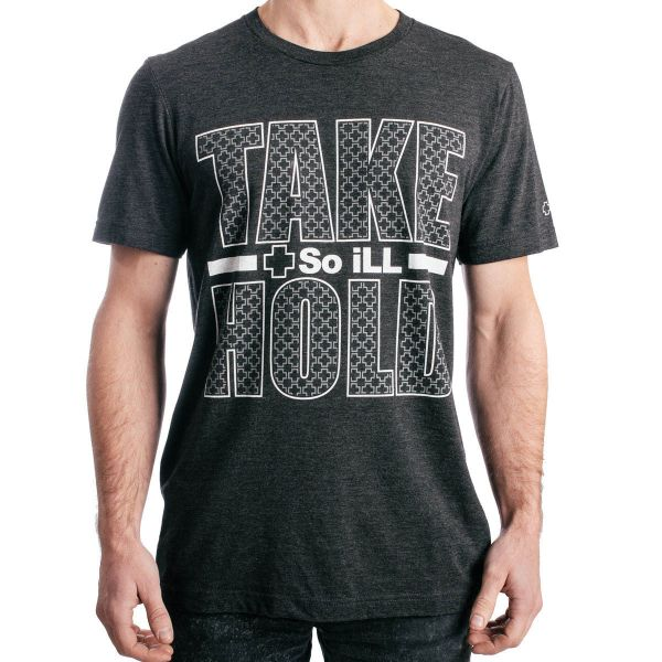 So iLL Take Hold T-Shirt comfortable stretchy durable breathable climbing bouldering rock tee