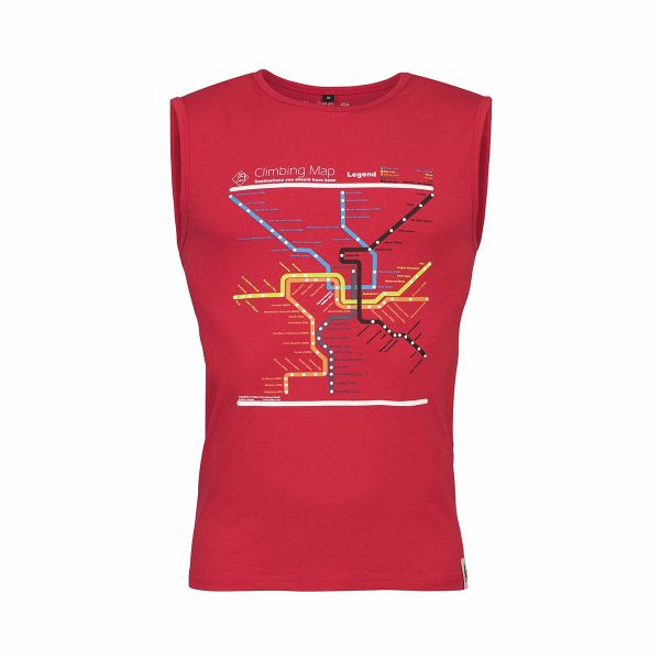 Chillaz Calanques Map Sleeveless