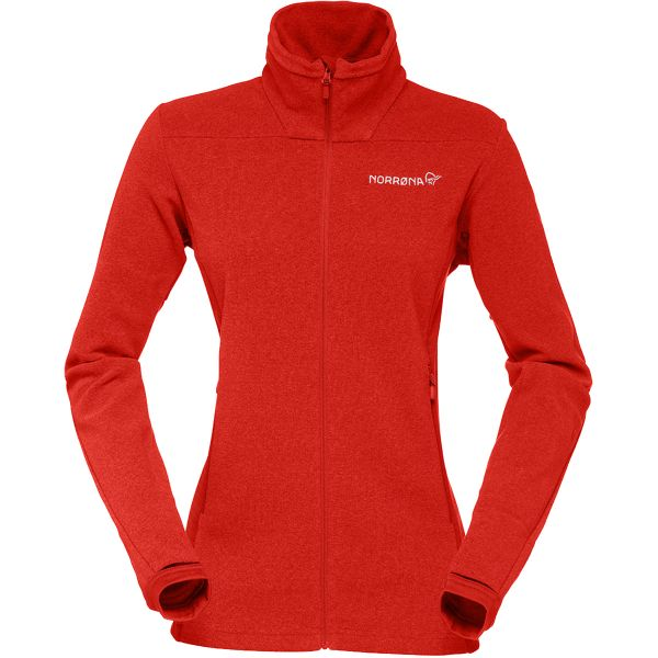 Norrona Falketind Warm1 Jacket Women midlayer fleece polartec breathable warm insulating mountaineering alpine winter