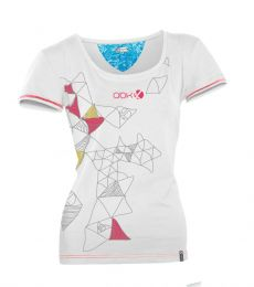 ABK Talc Tee Women's climbing bouldering outdoor comfortable breathable stretchy top