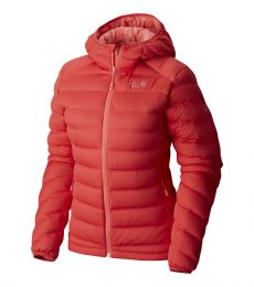 Mountain Hardwear  StretchDown Hooded Jacket Womens 2017 rock climbing alpine mountaineering