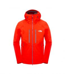 Frontpoint Jacket Front Fiery Red