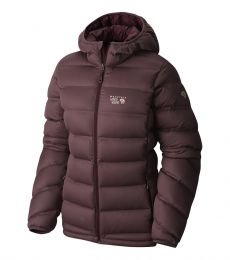 StretchDown Plus Hooded Jacket Womens