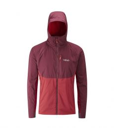 Rab Alpha Direct Jacket 2017 Cayenne alpine winter rock climbing mountaineering bouldering windproof lightweight down