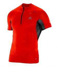 S-Lab Exo Zip Tee, running, trail running, racing, tee, t-shirt, lightweight