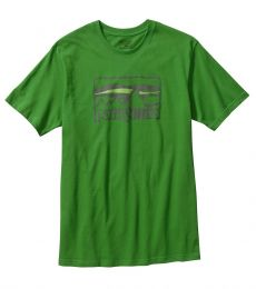 Spruced '73 Logo Cotton T-Shirt Myrtle Green